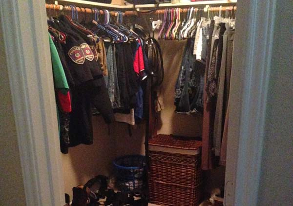 burleson lease house walk in closets