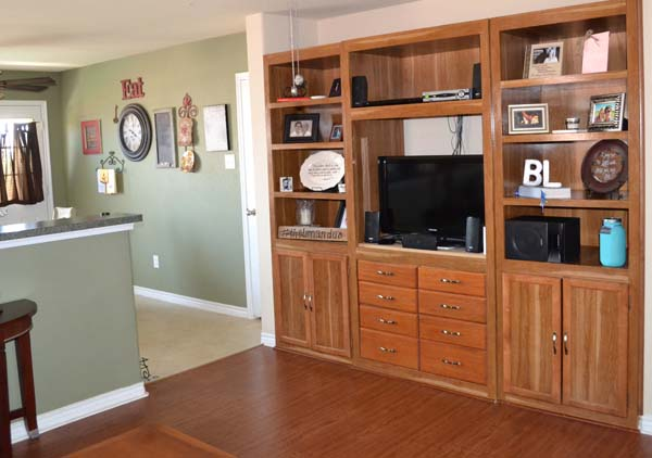 burleson rental house wall unit