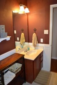 burleson lease house guest bathroom